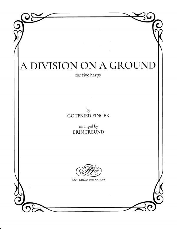 A Division on a Ground - For Five Harps - (LHS) - Harp.com